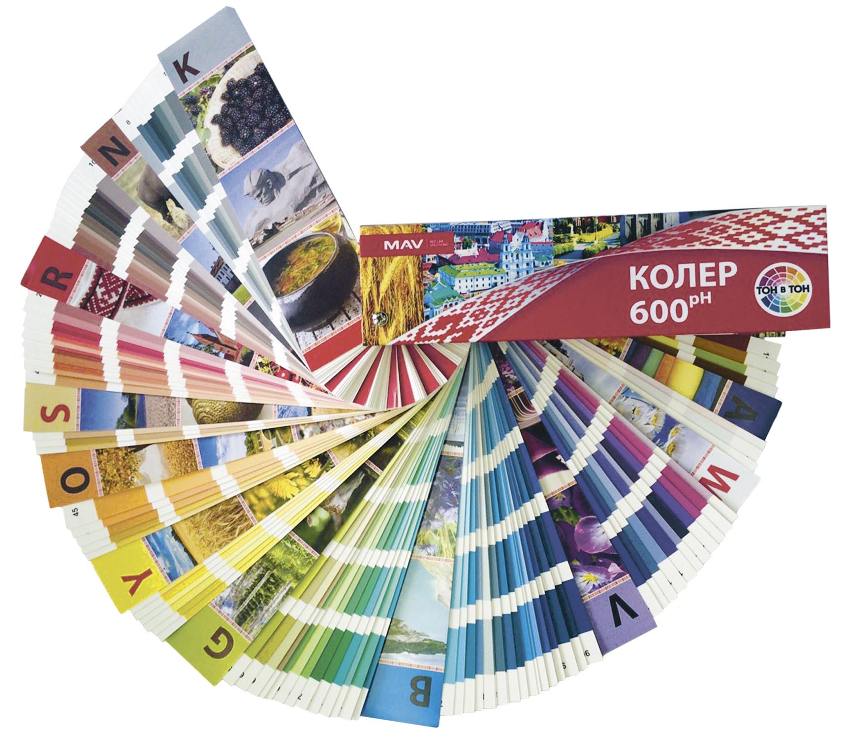 Базовые цвета в окраске